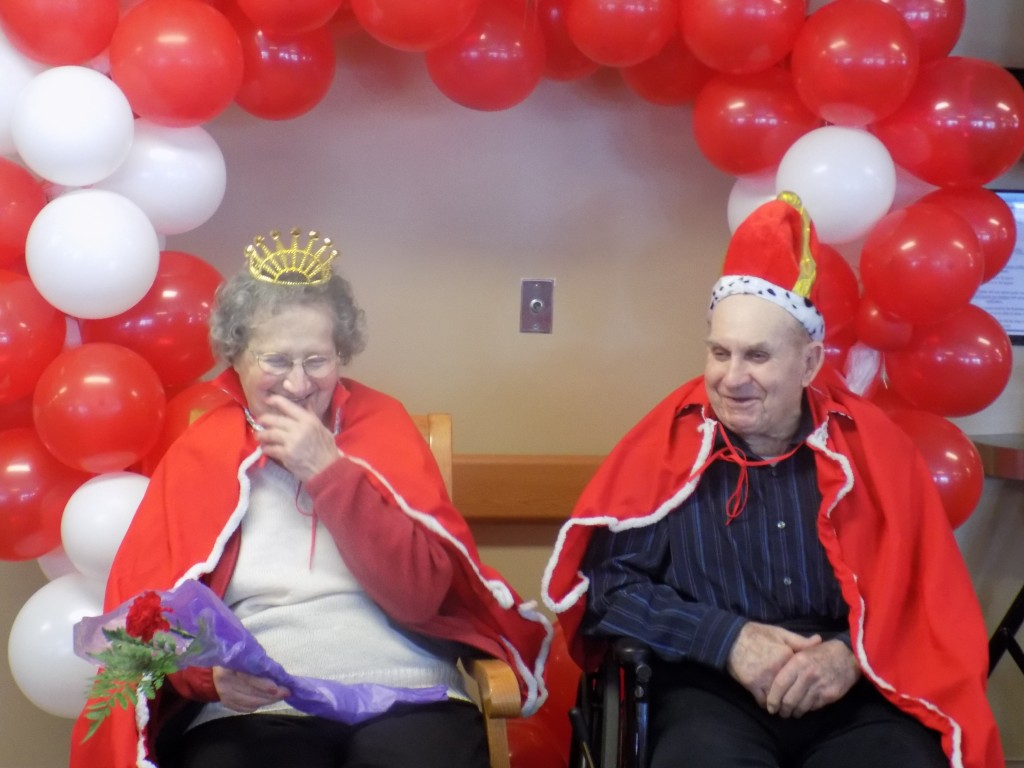 Queen and  King Lorraine Schlautman and Marvin Dreyer